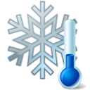 Thermometer-Snowflake-icon